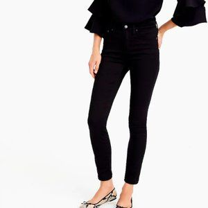 """J.Crew $110 9"""" High Rise Stretchy Toothpick Jeans"""